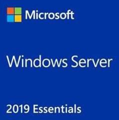 MS Windows OEM Server Essentials 2019, 64bit x64 CZ, OEM DVD 1-2cpu, max 25 uživatelů