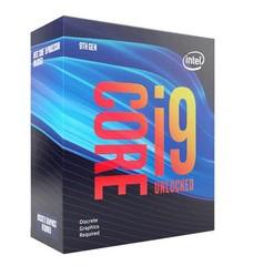 INTEL cpu CORE i9-9900KF 1151v2 Coffee Lake BOX 95W 9.generace (bez chladiče, 3.6GHz turbo 5.0GHz, 8x jádro, 16x vlákno, 16MB cache, pro DDR4 do 2666, bez grafiky, virtualizace