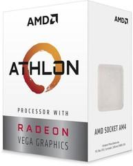 AMD cpu Athlon 240GE AM4 Box (3.5GHz, 4MB cache, 35W, 2 jádro, 4 vlákno) s chladičem, integrovaná grafika Vega 3, Raven Ridge