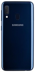 SAMSUNG Galaxy A202 Modrý, A20e, DUALSIM, smartphone, 32GB, 5.8