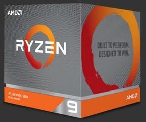 AMD cpu Ryzen 9 3900X AM4 Box (s chladičem, 3.8GHz / 4.6GHz, 64MB cache, 105W, 12 jádro, 24 vlákno), Zen2 Matisse 7nm CPU