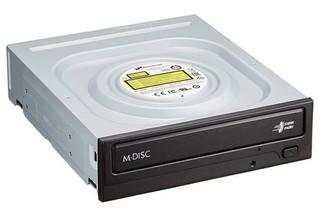 LG GH24NSD5 DVD±RW vypalovačka SATA zápis 24x DVD-R, 8x DL, 6x RW, 48x CD-R černá bez SW