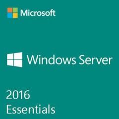 MS Windows OEM Server Essentials 2016, 64bit x64 CZ, OEM DVD 1-2cpu, max 25 uživatelů