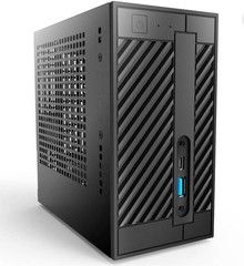 ASROCK DESKMINI A300/B/BB/BOX black černý (amd AM4, bez CPU, bez MEM, bez HDD, VGA+HDMI +DPort, GLAN, USB3.0 typ C, bez OS