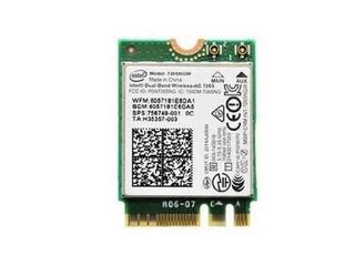 INTEL Dual Band Wireless-AC 7265, M.2, AC+BT, 2x2 antena, dual band 5 + 2.4GHz)