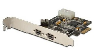 DIGITUS PCI Express Card, Firewire 800 1394b (2+1 porty 9pin)