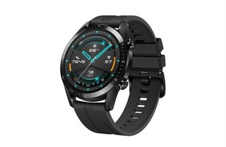 HUAWEI WATCH GT 2 Black Fluoroelastomer Strap