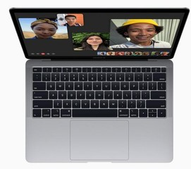 APPLE NB MacBook Air 13in Retina Dual Core i5 1.60GHz, 8GB ram, 128GB ssd PCIe, Space Gray, CZ klávesnice. macOS (model 2019, tišší klávesnice)