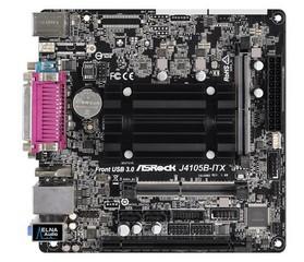 ASROCK MB J4105B-ITX s integrovaným intel CPU quad-core J4105 (2x DDR4 SO-DIMM, VGA +HDMI, PCI-E, 2xSATA3, 7.1, GLAN, miniITX)