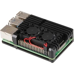 RASPBERRY case Armor Fan pro Raspberry Pi 4 B, černá