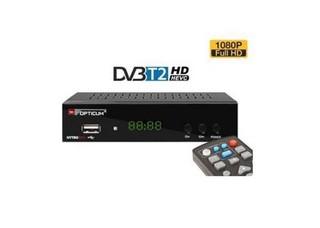 OPTICUM NYTRO BOX DVB-T2 H.265 set-top-box (digital DVB-T2 HEVC H.265 přijímač) USB, SCART, RJ45, HDMI, set-top-box
