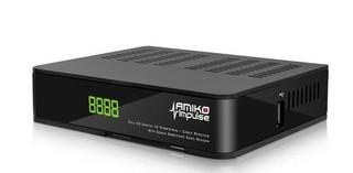 AMIKO Impulse T2/C DVB-T2 H.265 set-top-box (digital DVB-T2 HEVC H.265 přijímač) USB, SCART, RJ45, HDMI, set-top-box