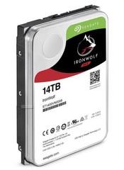 SEAGATE ST14000VN0008 hdd 14TB IronWolf SATA3-6Gbps 7200rpm 256MB NAS HDD 24x7 1-8bay 210MB/s 3.5 RAID