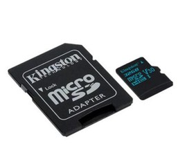 KINGSTON micro SD card Canvas Go! SDHC 32GB class10 UHS-I U3 (+ 1x adapter microSD na SD) (pro SDHC a SDXC zařízení)