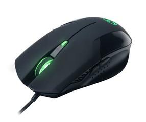 CONNECTIT herní myš BATTLE, USB, 6 tlačítek, až 2000 DPI - černá