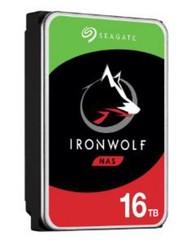 SEAGATE ST16000VN001 hdd 16TB IronWolf NAS SATA3-6Gbps 7200rpm 256MB NAS HDD 24x7 1-8bay 210MB/s 3.5 RAID