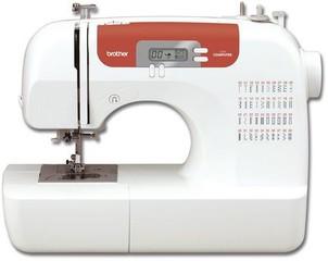 BROTHER CS10 šicí stroj (displej, 40 stehů, zapošívací tlačítko, LED osvětlení)