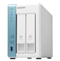 QNAP TS-231K TurboNAS server s RAID, 4xjádro 1.7GHz, 2GB DDR3, pro 2x 3,5/2,5in SATA3 HDD/SSD (USB3 + 1xGLAN) datové úložiště