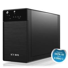RAIDSONIC ICY BOX IB-3620U3 externí box pro 2 x 3,5