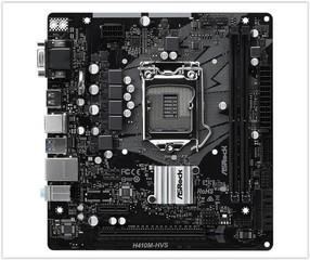 ASROCK H410M-HVS (intel 1200, 2xDDR4 2933MHz, 4xSATA3, VGA+HDMI, 1xGLAN, mATX)