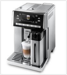 DeLONGHI PrimaDonna Exclusive ESAM 6900.M barva kovová (plnoautomatický kávovar)