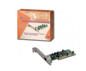 GEMBIRD NIC-G2 PCI sitovka (použitá) 1000/100/10 interní karta GLAN