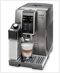 DeLONGHI Dinamica Plus ECAM 370.95.T barva kovová (plnoautomatický kávovar)