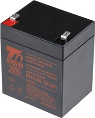 Akumulátor T6 Power HR1221W, 12V, 5Ah