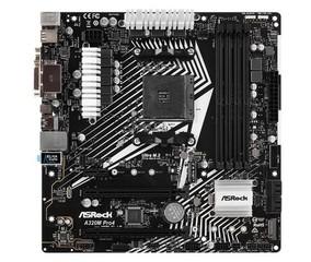 ASROCK MB A320M PRO4 R2.0 (použitý) (AM4, amd A320, 4xDDR4, PCIE, 4xSATA3 + Ultra M.2 + M.2, USB3.1, VGA+DVI+HDMI, 7.1, GLAN, mATX)