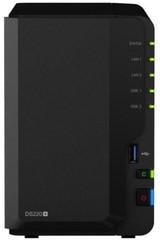 SYNOLOGY DS220+ Disc Station datové úložiště (pro 2x HDD, CPU max 2.9GHz, 2GB DDR4, NAS, DS220plus)
