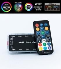 1stCOOL řadič AURA RAINBOW ARGB2 s music controll (s dálkovým ovládáním)