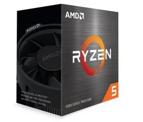 AMD cpu Ryzen 5 5600X AM4 Box (s chladičem, 3.7GHz / 4.6GHz, 32MB cache, 65W, 6x jádro, 12x vlákno), Zen3 Vermeer 7nm CPU