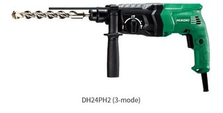 HIKOKI vrtací kladivo DH24PH2 (24mm, 730W, model DH24PH2WSZ)