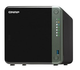 QNAP TS-453D-4G TurboNAS server s RAID, 4GB DDR4, pro 4x3,5/2.5