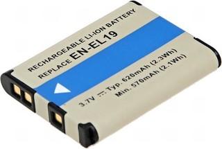 T6 POWER Baterie DCNI0014 FOTO Nikon EN-EL19