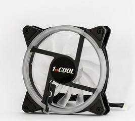 1stCOOL ventilátor AURA RAINBOW ARGB Double RING 120mm (do CASE)
