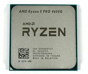 AMD cpu Ryzen 5 PRO 4650G AM4 (tray) s grafikou Radeon (bez chladiče, 3.7GHz / 4.2GHz, 4MB cache, 65W, 6 jádro, 12 vlákno, 7 GPU), integrovaná grafika, Zen2 Renoir 7nm APU