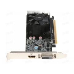GIGABYTE VGA GV-N1030D4-2GL GeForce GTX1030 (2GB GDDR5, 64bit, DVI+ HDMI, aktivní, low profile)