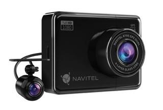 NAVITEL R700 GPS DUAL kamera do auta (driver cam 1920x1080, lcd 4in 800x480) kovová