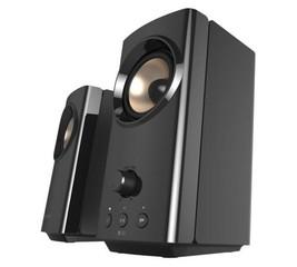 CREATIVE repro T60 Hi-Fi 2.0 RMS 30W / špička 60W, s funkcí Clear Dialog a Surround (reproduktory)