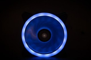 1stCOOL ventilátor EVO RGB Double RING 120mm (do CASE)