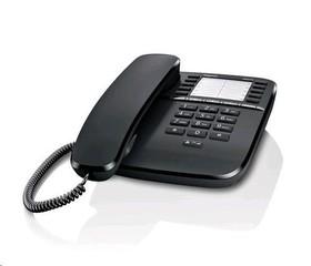SIEMENS Gigaset DA510 stolní telefon, černý