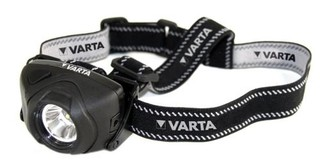 VARTA svítilna LED 1WATT HEAD LIGHT čelová (3xAAA, odolná, 100lm, 1x Led 1W, čelovka)