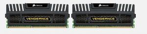 CORSAIR 8GB=2x4GB DDR3 1600MHz VENGEANCE BLACK PC3-12800 CL9-9-9-24 1.5V (8GB= kit 2ks 4096MB s chla