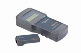 Nářadí Cable tester pro UTP, FTP, 5e, 6e, koax. a tel. kabely, LCD display(4x16zn), měří dlélku a př