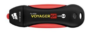 CORSAIR Voyager GT 128GB USB3 flash drive (86x27mm, max 230MB/s čtení, max 160MB/s zápis, vodě odoln