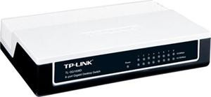 TP-LINK TL-SG1008D GBit switch, 8x 10/100/1000Mbps 8port