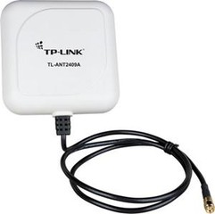 TP-LINK TL-ANT2409A antena směrová panelová 2.4GHz 9dBi Outdoor RSMA kabel 1m