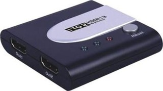 HDMI splitter 2x HDMI 1.3 kompatibilní max. rozlišení 1080i a 1080p
