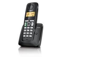 SIEMENS Gigaset A220 bezdrátový telefon, podsvícený graf.display, handsfree, černý